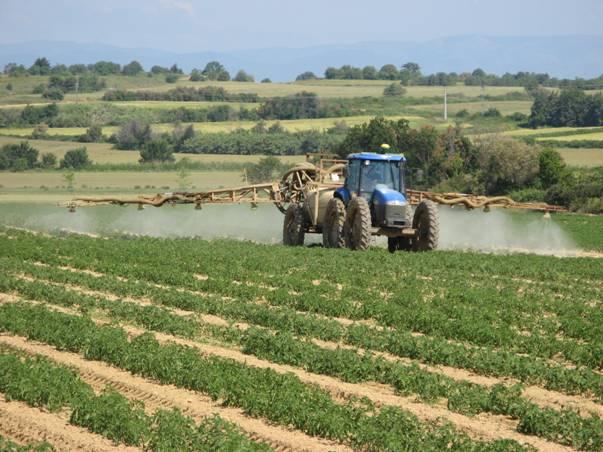 Pulvérisation pesticides