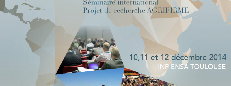 Photo programme colloque AGRIFIRME