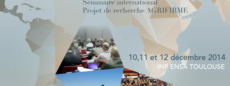 Photo programme colloque AGRIFIRME